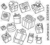 vector black and white...   Shutterstock .eps vector #333558593