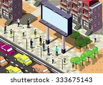 illustration of info graphic... | Shutterstock .eps vector #333675143