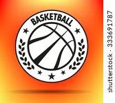 streetball and basketball...   Shutterstock .eps vector #333691787
