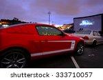 auckland   nov 01 2015 cars in... | Shutterstock . vector #333710057