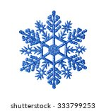 Toy Snowflake   Isolated On...