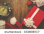 christmas and new year holiday  ... | Shutterstock . vector #333808517