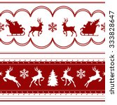 sample seamless christmas... | Shutterstock .eps vector #333828647