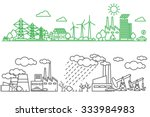 environment  ecology... | Shutterstock .eps vector #333984983