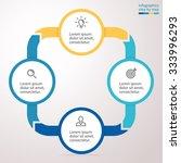 infographic  chart  graph ... | Shutterstock .eps vector #333996293