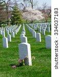 The Arlington Cemetery Is The...