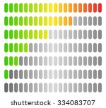 colored progress bars  progress ... | Shutterstock .eps vector #334083707