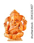 Small photo of Tipical iconic statue of Induism religion, Ganesh (also said Ganesha)