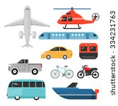 transport vehicle. | Shutterstock .eps vector #334231763