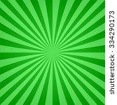 Retro Green Color Ray Burst...