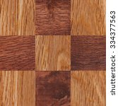 wooden background  squares in a ... | Shutterstock . vector #334377563