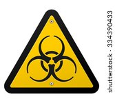 toxic hazard   dangerous... | Shutterstock .eps vector #334390433