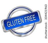 gluten free button | Shutterstock . vector #334421963