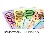 Various Euro Notes  Money Fan