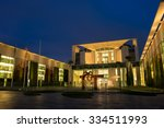 chancellery in berlin  germany  | Shutterstock . vector #334511993