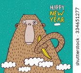 Funny New Year Illustration...