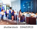 abstract blur people... | Shutterstock . vector #334653923