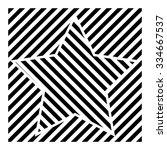 lines design . vector striped... | Shutterstock .eps vector #334667537