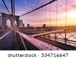 new york city  usa  early in... | Shutterstock . vector #334716647