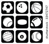 vector balls | Shutterstock .eps vector #33472747