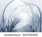 quarantine area with... | Shutterstock . vector #334769393