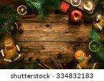 Christmas Food. Gingerbread Ma...