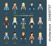 Vector Set Of People Icons....