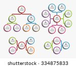 collection infographic design... | Shutterstock .eps vector #334875833
