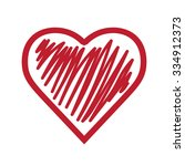 heart icon | Shutterstock .eps vector #334912373
