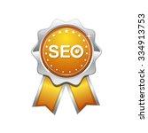 seo yellow vector icon design   Shutterstock .eps vector #334913753