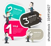 four steps vector infographic...   Shutterstock .eps vector #334914827