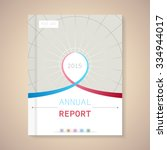 cover annual report numbers... | Shutterstock .eps vector #334944017