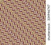 vector seamless pattern tribal... | Shutterstock .eps vector #334946747