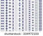 set of seamless vertical...   Shutterstock .eps vector #334972103