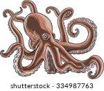 detailed illustration of an... | Shutterstock .eps vector #334987763