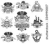 Corsair Logo Set In Vintage...