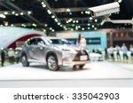 cctv security camera on monitor ... | Shutterstock . vector #335042903