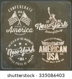 America Label Set