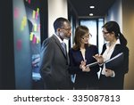 business team corporate... | Shutterstock . vector #335087813