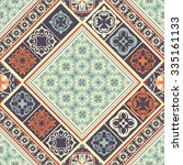 tiles seamless pattern with... | Shutterstock .eps vector #335161133
