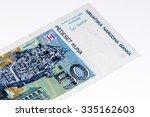 50 Croatian Kunas Bank Note....