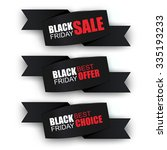 black friday collection sale... | Shutterstock .eps vector #335193233