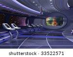 3d rendering of a spaceship | Shutterstock . vector #33522571