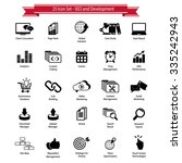 seo and development icons | Shutterstock .eps vector #335242943