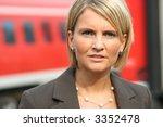 beautiful business woman on tour | Shutterstock . vector #3352478