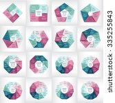 big collection of infographic... | Shutterstock .eps vector #335255843