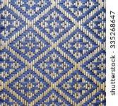 Close Up Woven Bamboo Pattern...