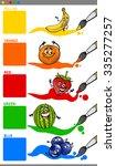 cartoon vector illustration of... | Shutterstock .eps vector #335277257