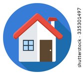 home icon | Shutterstock .eps vector #335301497