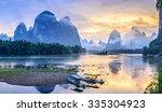 Landscape Of Guilin  Li River...